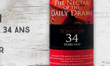 Tomatin - 1976/2010 - 34yo - 51% - Sherry Butt - The Nectar of The Daily Drams/La Maison du Whisky