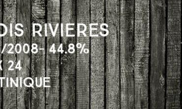Trois Rivières - 1998/2008 - 44,8% -  Cask 24 - Martinique