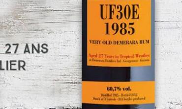 Uitvlugt - UF30E - 1985/2012 - 27yo - 60,7 % - Very Old Demerara Rum - Velier - Guyana