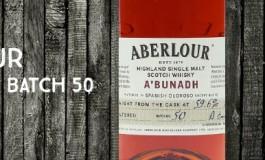 Aberlour - A'bunadh - Batch 50 - 59,6%