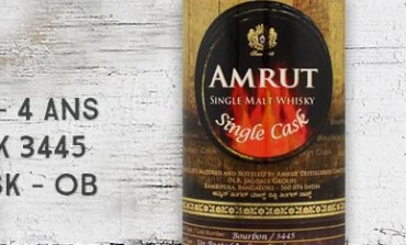 Amrut - 2009/2013 - 4yo - 60% - Cask 3445 - OB