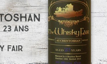 Auchentoshan - 1992/2015 - 23yo - 46,3% - The Whisky Fair