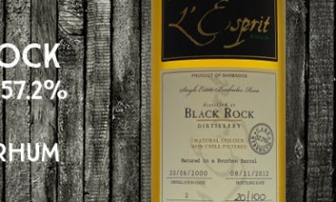 Black Rock - 2000/2012 - 57,7% - Cask 2 - Whisky & Rhum - Barbade