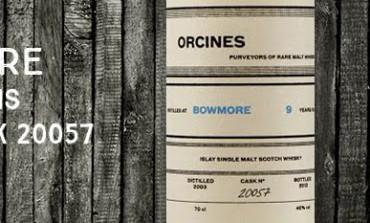 Bowmore - 2003 - 9yo - 46% - Cask 20057 - Orcines