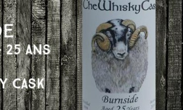 Burnside - 1989/2014 - 25yo - 48,3% - The Whisky Cask