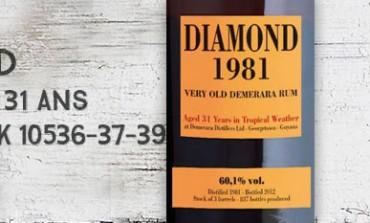 Diamond - 1981/2012 - 31yo - 60,1% - Casks 10536-37-39 - Velier - Guyana