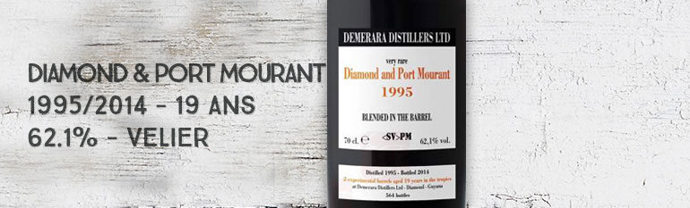Diamond & Port Mourant – 1995/2014 – 19yo – 62,1% – Velier – Guyana
