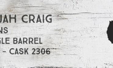 Elijah Craig - 18 yo - Single barrel - 45% - Cask 2306