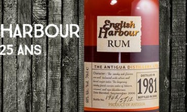 English Harbour - 1981/2006 - 25yo - 40% - Antigua