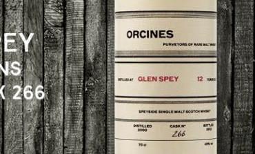 Glen Spey - 2000 - 12yo - 46% - Cask 266 - Orcines