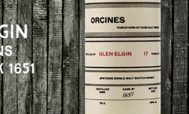 Glen Elgin - 1995 - 17yo - 46% - Cask 1651 - Orcines
