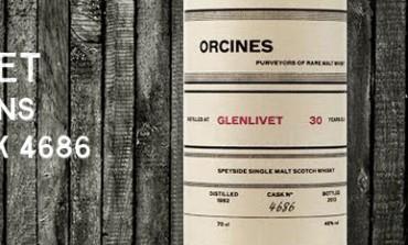 Glenlivet - 1982 - 30yo - 46% - Cask 4686 - Orcines