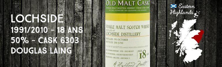 Lochside – 1991/2010 – 18yo – 50% – Cask 6303 – Douglas Laing