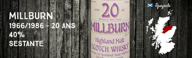 Millburn – 1966/1986 – 20yo – 40% – Sestante