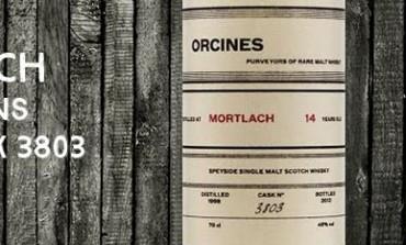 Mortlach - 1998 - 14yo - 46% - Cask 3803 - Orcines