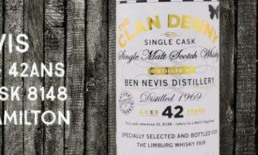 Ben Nevis - 1969/2012 - 42yo - 47,8% - Cask 8148 - Hunter Hamilton - The Clan Denny - for Limburg Whisky Fair