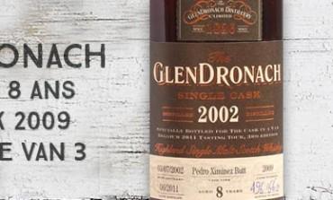 """Glendronach 8yo - 2002/2011 - OB for """"Cask in a van 3"""" - 55%"""