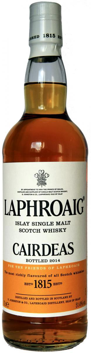 LaphroaigCairdeas2014OB
