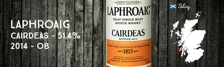 Laphroaig – Cairdeas 2014 – 51.4% – OB