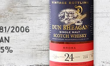 Brora - 1981/2006 - 24yo - 48.5% - #1524 - Ian McLeod - Dun Bheagan