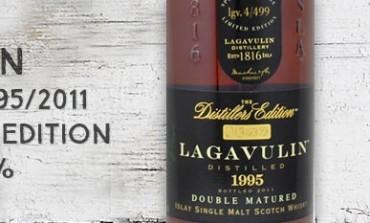 Lagavulin 16yo - 1995/2011 - Distillers Edition (4/499) - 43% - OB