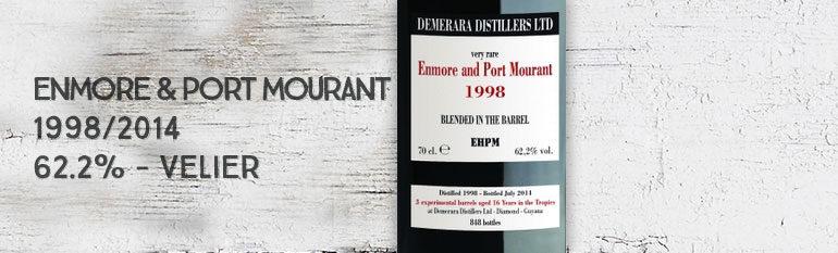 Enmore & Port Mourant – 1998/2014 – 62,2% – Velier – Guyana