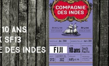 Fiji - South Pacific - 2004/2015 - 10yo - 44% - Cask SF13 - Compagnie Des Indes - Fiji