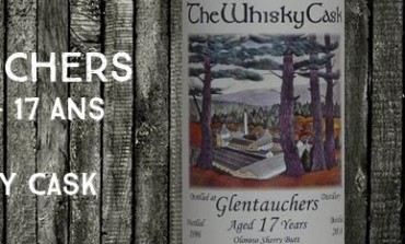 Glentauchers - 1996/2014 - 17yo - 47,7% - The Whisky Cask