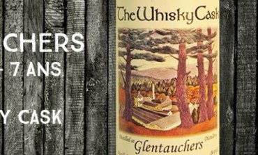 Glentauchers - 2007/2014 - 7yo - 56% - The Whisky Cask