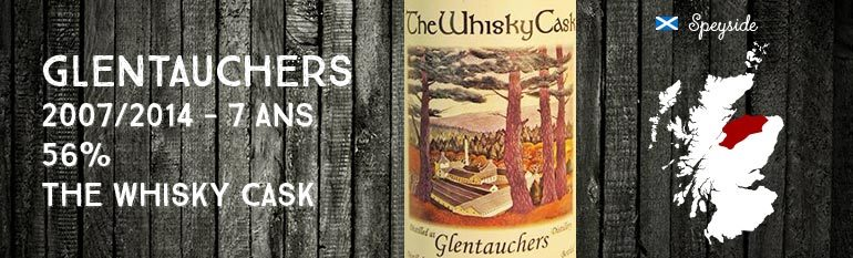 Glentauchers – 2007/2014 – 7yo – 56% – The Whisky Cask