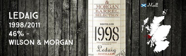Ledaig – 1998/2011 – Refill Sherry – 46% – Wilson & Morgan