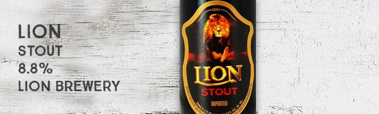 Lion – Stout – 8,8% – Lion Brewery