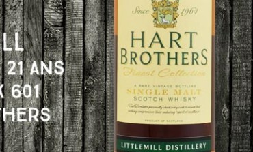 Littlemill - 1992/2013 - 21yo - 53% - Cask 601 - Hart Brothers for The Whisky Cask