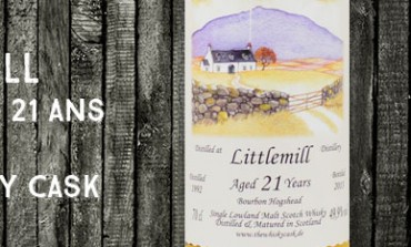 Littlemill - 1992/2013 - 21yo - 49,9% - The Whisky Cask