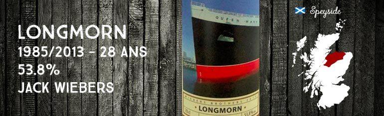 Longmorn – 1985/2013 – 28yo – 53,8% – Jack Wiebers Whisky World – Passenger Liners
