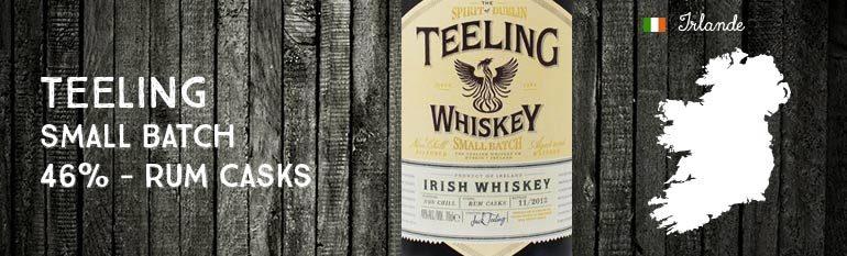 Teeling – Small Batch – 46% – Rum Casks – Teeling Whiskey Company