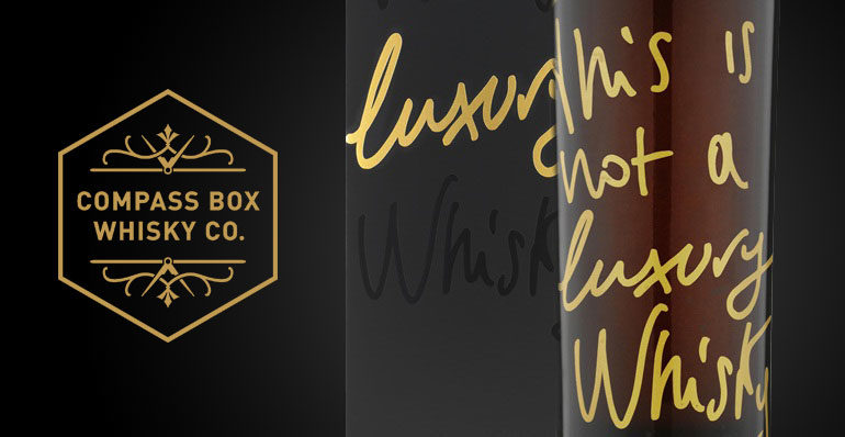 « This is not a luxury Whisky » par Compass Box : nom d'une pipe !