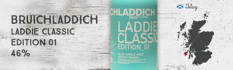 Bruichladdich – Laddie Classic Edition_01 – 46% – OB