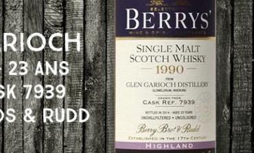 Glen Garioch - 1990/2014 - 23yo - 56,1% - Cask 7939 - Berry Bros & Rudd
