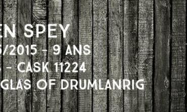 Glen Spey - 2005/2015  - 9yo - 46% - Cask 11224 - Douglas of Drumlanrig