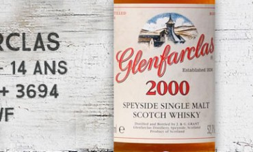 Glenfarclas - 2000/2015 - 14yo - 52,1% - Cask 3639+3694 - OB for The Whisky Fair
