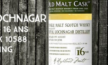 Royal Lochnagar - 1997/2014 - 16yo - 50% - Cask HL10588 - Hunter Laing - Old Malt Cask