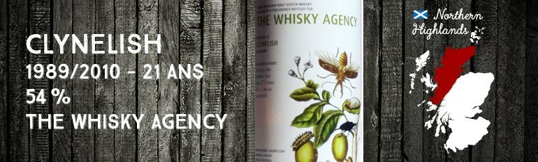 Clynelish – 1989/2010 – 21 yo – 54% – The Whisky Agency