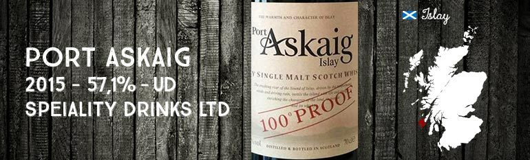 Port Askaig – 100 proof – 57,1% – Speciality Drinks – 2015