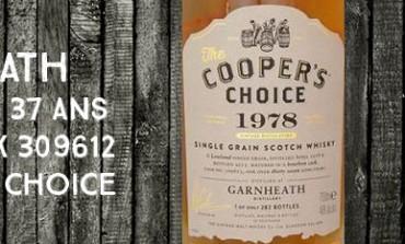 Garnheath - 1978/2015 - 37yo - 46% - Cask  309612 -  Cooper's Choice