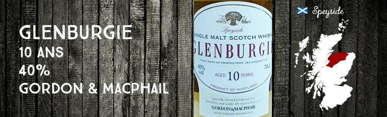 Glenburgie – 10yo – 40% – Gordon & MacPhail