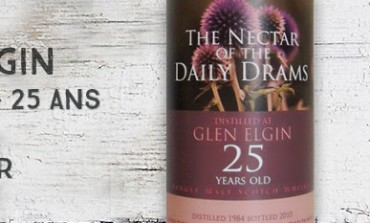 Glen Elgin - 1984/2010 - 25yo - 43,8% - The Nectar of the Daily Drams