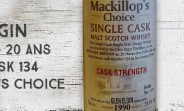 Glen Elgin - 1990/2010 - 20yo - 53,6% - Cask 134 - MacKillop's Choice