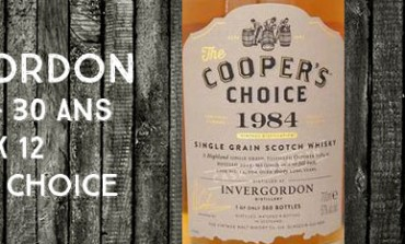 Invergordon - 1984/2015 - 30yo - 57% - Cask 12 - Cooper's Choice