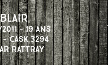 Balblair - 1991/2011 - 19yo - 46% - Cask 3294 -  A.D Rattray